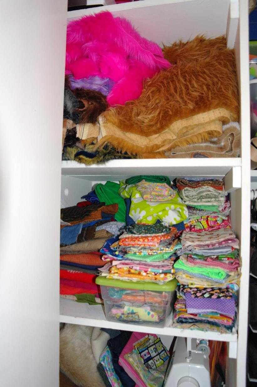 cupboard bright close up