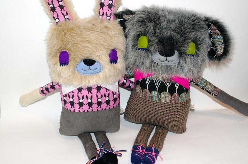 Cumberbatch Bunny and Kroeger Koala