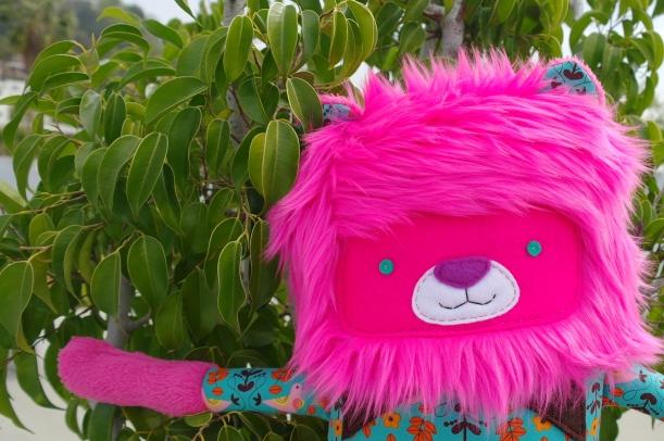 Pink Lion 4