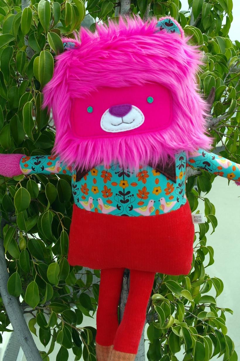 Pink Lion 5