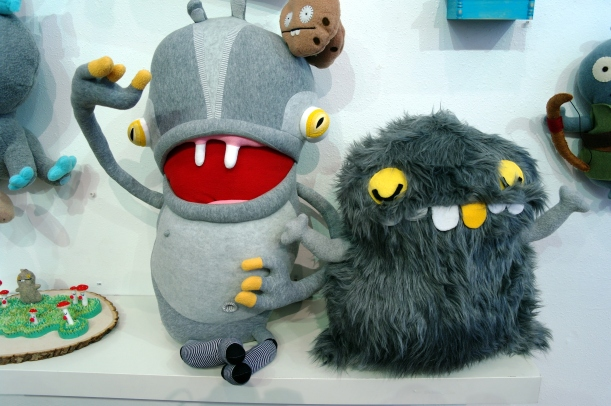 cotton monster and barbato babo
