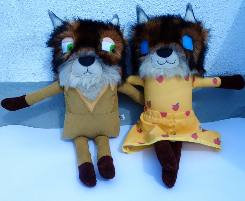 Mr and Mrs. Fox 1